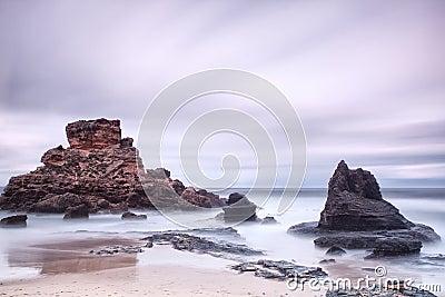 Stone seascape.