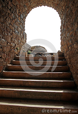 The stone stair