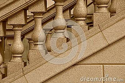 Stone staircase design