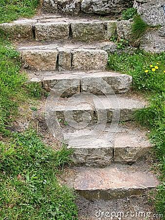 Free Stone Stairs Stock Photo - 745780