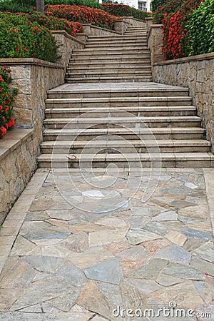 Free Stone Stairway Stock Photo - 19758660