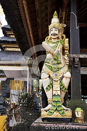 Stone Statue at Pura Ulun Danu Batur, Bali