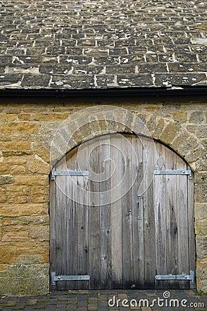 Stone storage shed