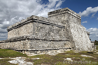 Stone Temple at Tulum