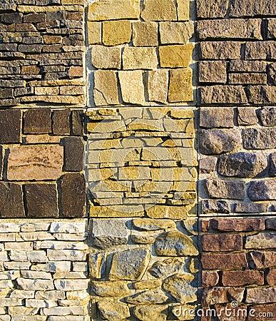 Stone texture wall