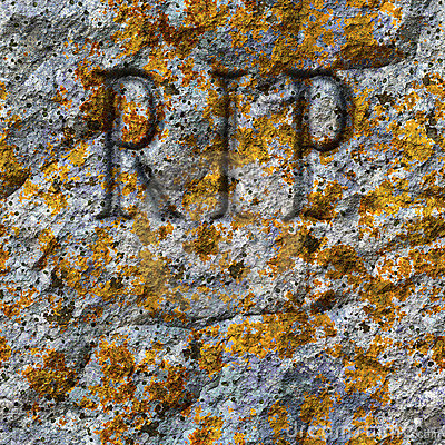 Free Stone Texture With RIP Stock Photos - 22326763
