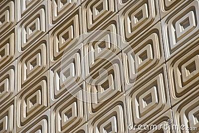 Stone Tile Facade On a Slant