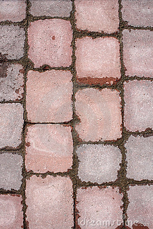 Stone tile paving