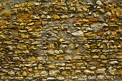 Stone wall absract background
