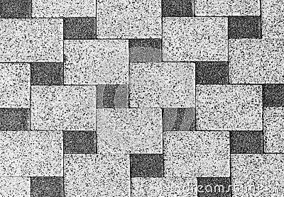 Stone Wall Mosaic