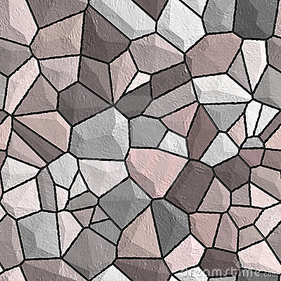 Stone wall seamless pattern