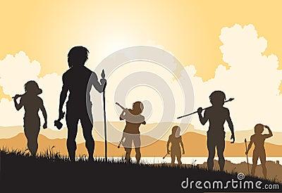 Stoneage hunters