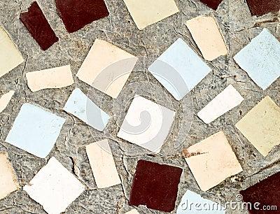 Stoned tile background