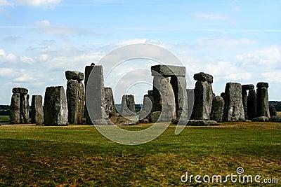 Stonehenge in England Cornwall