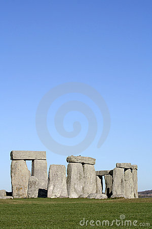 Stonehenge (room for text)