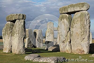 Stonehenge Under Dark Clouds Free Public Domain Cc0 Image