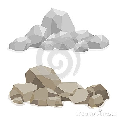 Free Stones, A Hill Built Of Stones, Many Stones Stock Photography - 102066212