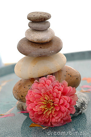 Free Stones And Flower Stock Photo - 430490