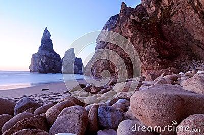 Stones & beach