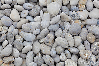 Stones in the beach of Etretat