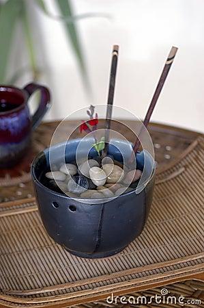 Stones in Bowl