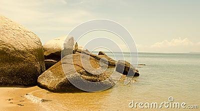 The Stones on the coast