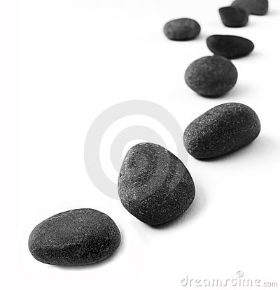 Free Stones In A Row Stock Photos - 13598743