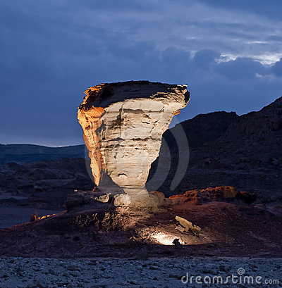 Free Stones Of Geological Park Timna Stock Images - 12829744