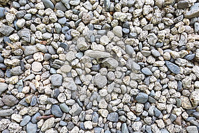 Stones and pebble