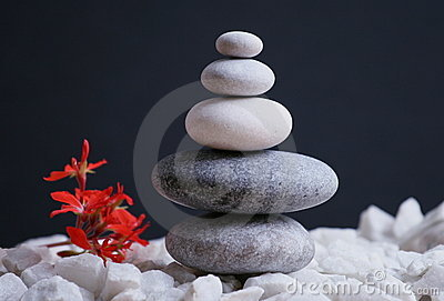 Stones With Reiki Energy Stock Photography - Image: 17571152