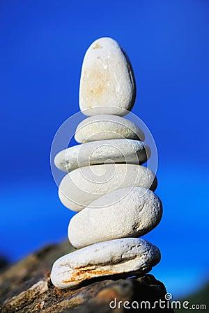 Stones on the rock