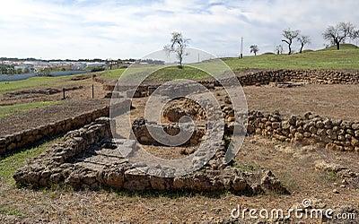 Stones  Roman mausoleum