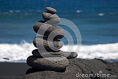 Stones by sea