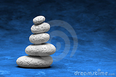 Stones Stack Spirituality Simplicity Background