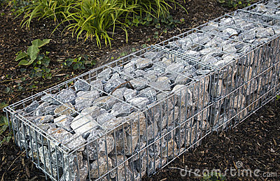 Stones in storm water drainage