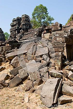 Stones in Ta Prohm