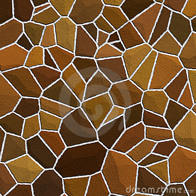 Stones texture in shades of brown