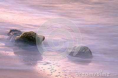 Stones in the tide