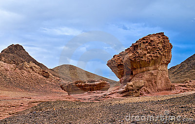 Stones of Timna park