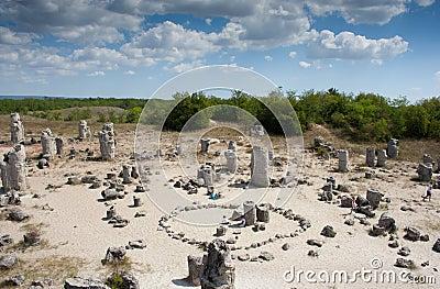 Stones trees