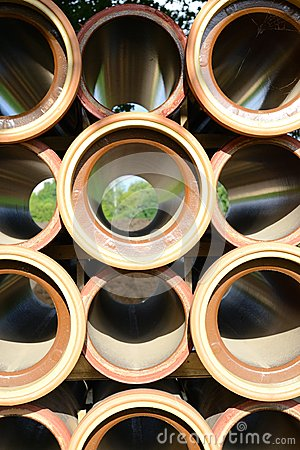 Stoneware pipes