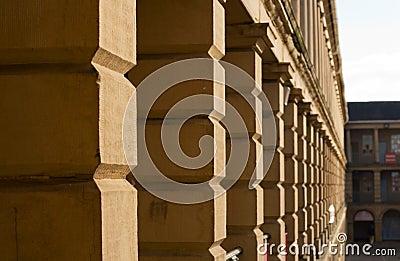 Stonework части залы halifax