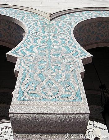 Stonework islâmico