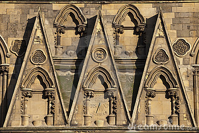 Stonework And Sundial Royalty Free Stock Images - Image: 22122709