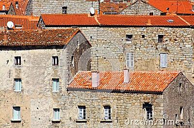 Stony houses, Corsica