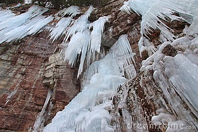 Stony Kill Falls Icicle Cliffs