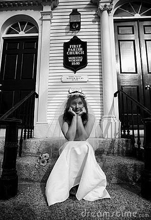 Free Stood Up Bride Royalty Free Stock Photos - 9173148