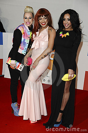 Stooshe Editorial Stock Image