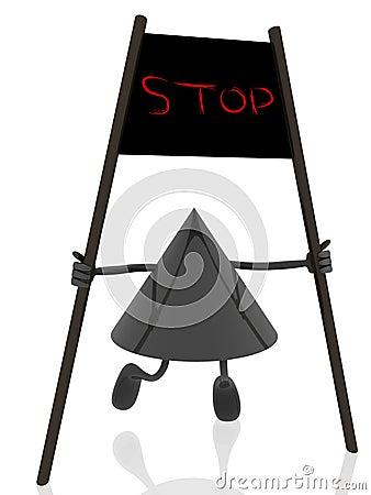Stop banner