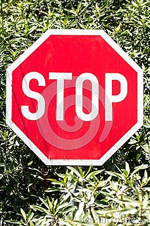 Stop board